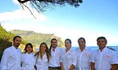 ¡Good Morning! This gang will take care of you from the moment you arrive to #CrusoeIslandLodge.