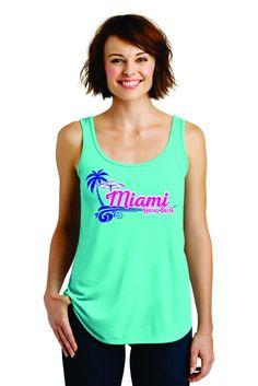 Top 5 Tank Tops for Spring Break | Transfer Express Apparel  Decorate these tank tops with your heat press and screen printed heat transfers.  www.TransferExpress.com
