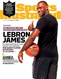 Sports Illustrated Magazine August 8, 2016 Cleveland Cavs LeBRON JAMES Cover
