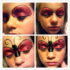 This would be cute on the girls as a painted face day.