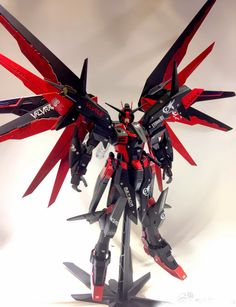 "MG 1/100 Freedom Gundam ""Madness"" Custom Build - Gundam Kits Collection News and Reviews"