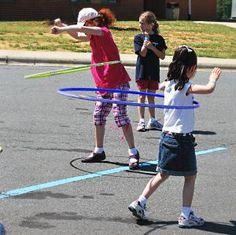 cute outdoor games
