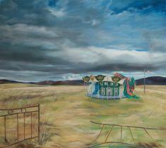 Original Places Painting by Gamze Olgun Oil On Canvas, Canvas Art, Realism Art, Saatchi Art, Original Paintings, The Originals, Places, Artist, Park