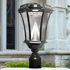 Mount this solar powered light three different ways for plenty of options, allowing you to keep your home well lit during the night.