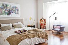 Propuestas inspiradoras para tu dormitorio  Si tenés metros suficientes, aprovechá para incluir un rincón de lectura. Elegí un lindo sillón y una buena lámpara que te dé buena luz al momento de la lectura.         Foto:Archivo LIVING