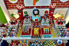 Super Mario Birthday Party!// Fiesta de cumpleañso de Super Mario
