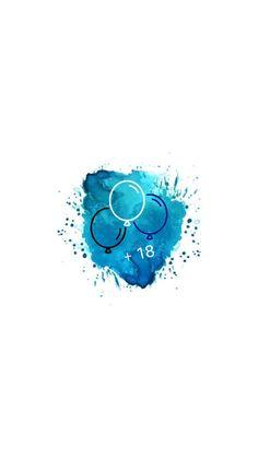 Pin de Алина Кузнецова em Icons for stories Alphabet Wallpaper, Emoji Wallpaper, Dark Wallpaper, Youtube Banner Design, Youtube Banners, Instagram Logo, Instagram Story, Blue Highlights, Insta Icon