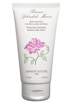Annick Goutal creme splendide hands