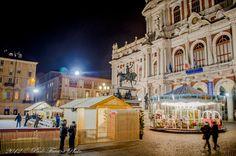 Pattinare su ghiaccio a Natale a #Torino #christmas