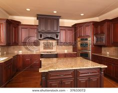 awesomebrandi: Kitchen layout similar to our current one, cherry ...