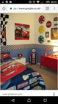 Luxury Disney Car Bedroom Decor