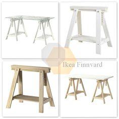 10 espacios de trabajo con Ikea Finnvard - Emérita Desastre