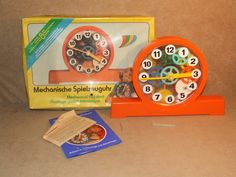 Prefo Mechanical Clock Effect Nr Complete And Boxed Made in GDR