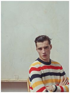 DE FURSAC ADDS A POP OF COLOR FOR SPRING/SUMMER 2015 MENSWEAR COLLECTION