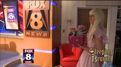 We love visitors on Fox 8 News in the morning, especially ones that come bearing cake pops! Watch the video to find out why this princess joined us Tuesday.