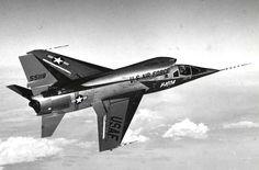 F-107A in flight - North American F-107 - Wikipedia