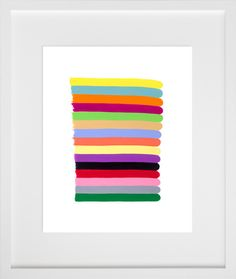 color stack series | 20x200.com    we could do this - easy peasy