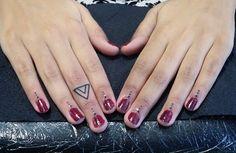 john_ink_ on Instagram Future Tattoos, Finger Tattoos, Ink Art, Blackwork, Small Tattoos, Fingers, Henna, Tattoo Designs, Nails