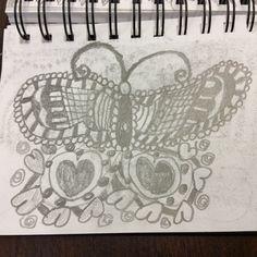 Zentangle by Marcie of Zen Drawing Club