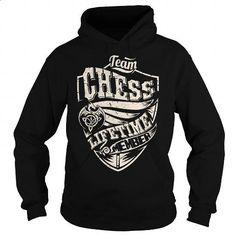 Team CHESS Lifetime Member (Dragon) - Last Name, Surname T-Shirt - #mens shirt #long sleeve tee shirts. PURCHASE NOW => https://www.sunfrog.com/Names/Team-CHESS-Lifetime-Member-Dragon--Last-Name-Surname-T-Shirt-Black-Hoodie.html?60505