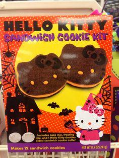 Hello Kitty Halloween cookie kit