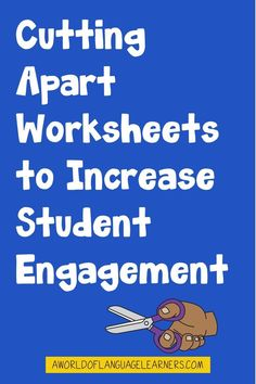 Learn tips about cutting apart worksheets to help students tay engaged in a new way. This is an easy way to provide differentiation, sue interactive notebooks, and provide repeated practice.