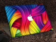 Macbook Decal Stickers, Mac Decals, Laptop Decal, Macbook Pro Skin, Macbook Hard Case, Macbook Air, Rainbow Promise, Computer Skins, Macbook Accessories