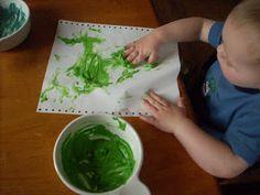 Plain Graces: Homemade Washable Finger Paints