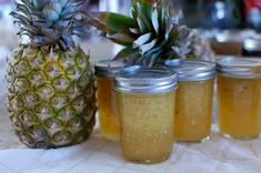 Homemade Pineapple Jam (and how to water bath can your jam for longer-term storage) — The 350 Degree Oven Pineapple Jelly Recipes, Pineapple Jam, Canning Pineapple, Pineapple Ideas, Homemade Jelly, Homemade Butter, Jam Recipes, Canning Recipes, Jars