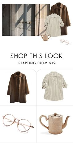 """""""Untitled #385"""" by littlepot-marigold ❤ liked on Polyvore featuring A.P.C., Steven Alan and Astier de Villatte"""