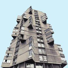 Fotókon Belgrád Star Wars-hangulatú brutalista épületei   Urbanplayer.hu