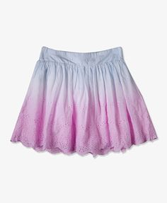Ombré Eyelet Skirt | FOREVER21. that is so cute. i would wear this all the time!!!