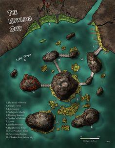 Fantasy Cartography by Sean Macdonald