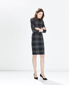 CHECKED SHIFT DRESS-Woman-NEW THIS WEEK | ZARA United States