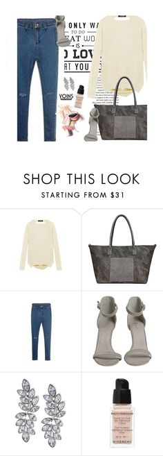 """Yoins 7/1.3"" by merima-kopic ❤ liked on Polyvore featuring Privé, Kenneth Jay Lane, Givenchy, yoins and yoinscollection"