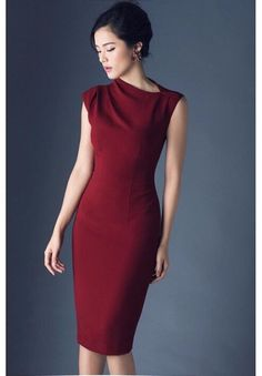dam cong so ha vi Simple Dresses, Elegant Dresses, Beautiful Dresses, Casual Dresses, Short Dresses, Dresses For Work, Formal Dresses, Dress Outfits, Fashion Dresses