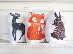 Woodland Creatures Pillow Set