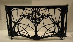Art Nouveau balcony Ironwork.