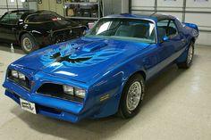 78 Trans Am Martinique Blue Auto W72 T-Tops by restoreamusclecar, via Flickr