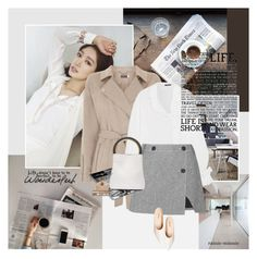 """""""Lifestyle"""" by rainie-minnie ❤ liked on Polyvore featuring Shin Choi, Ann Demeulemeester, Topshop Unique, Marni and Urban Decay"""