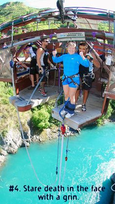 Go bungy jumping in Queenstown, or one of the myriad adrenaline-inducing activities on offer in the Adventure Capital of the World. See the other Top 10 Things to Do on Vacation: New Zealand http://blog.activenewzealand.com/2012/09/the-top-10-things-to-do-on-vacation-new.html