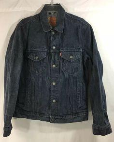 Details about LEVI S Vintage TRUCKER DENIM JACKET DISTRESSED Size Large Mens 47836816702