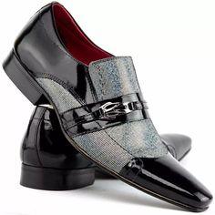 2dee6fcfbcc sapato social masculino 100% couro legítimo - super oferta