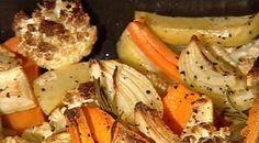 אהרוני | ערוץ 10 | ירקות שורש צלויים