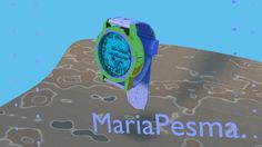 3d modeling a watch