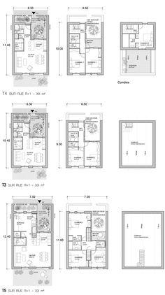 typo t3 t5 jpg 670×1200 Planos de casas Planos de