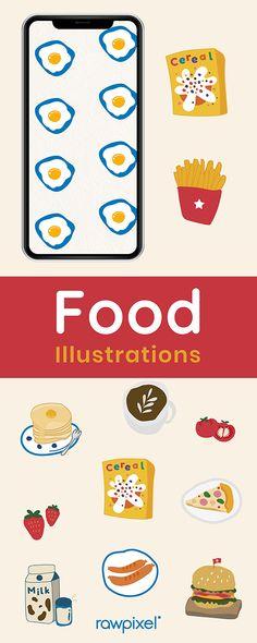 Fruit Illustration, Food Illustrations, Food Doodles, Food Stickers, Simple Doodles, Principles Of Art, Albrecht Durer, Renaissance Art, Illuminated Manuscript