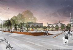 Stortorget, Malmö / LAND Arkitektur + Urban Design + Marjamaa #landscape