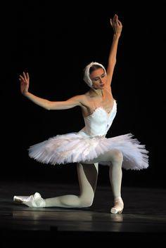 "Ukrainian-Born Ballerina Svetlana Zakharova In ""Swan Lake"""
