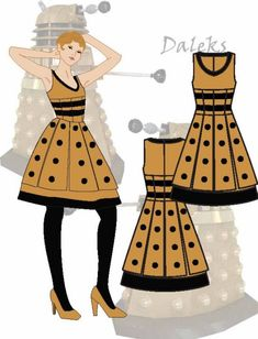 Dalek costume!  I could so do this, and S. could be the Doctor!